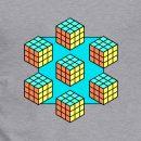 Retro Cube T-Shirt Print